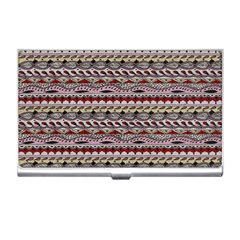 Aztec Pattern Patterns Business Card Holders