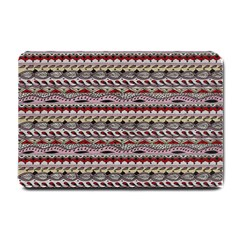 Aztec Pattern Patterns Small Doormat  by BangZart