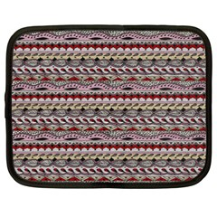Aztec Pattern Patterns Netbook Case (xxl)