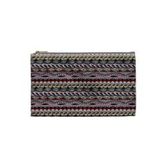 Aztec Pattern Patterns Cosmetic Bag (small)  by BangZart