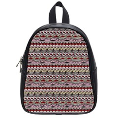 Aztec Pattern Patterns School Bags (small)  by BangZart