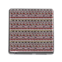 Aztec Pattern Patterns Memory Card Reader (square)