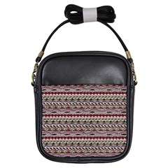 Aztec Pattern Patterns Girls Sling Bags by BangZart