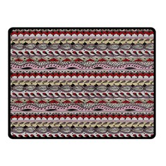 Aztec Pattern Patterns Fleece Blanket (small) by BangZart