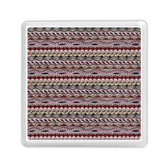 Aztec Pattern Patterns Memory Card Reader (square)  by BangZart