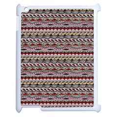 Aztec Pattern Patterns Apple Ipad 2 Case (white) by BangZart