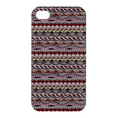 Aztec Pattern Patterns Apple Iphone 4/4s Hardshell Case by BangZart