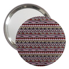 Aztec Pattern Patterns 3  Handbag Mirrors by BangZart