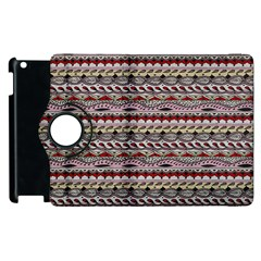 Aztec Pattern Patterns Apple Ipad 2 Flip 360 Case by BangZart