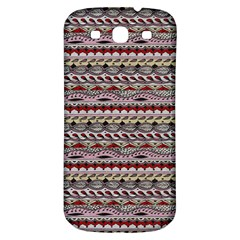 Aztec Pattern Patterns Samsung Galaxy S3 S Iii Classic Hardshell Back Case by BangZart