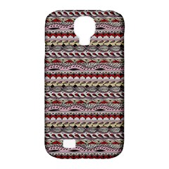 Aztec Pattern Patterns Samsung Galaxy S4 Classic Hardshell Case (pc+silicone)