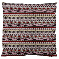 Aztec Pattern Patterns Large Flano Cushion Case (two Sides)