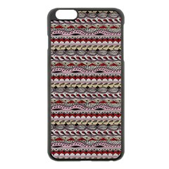 Aztec Pattern Patterns Apple Iphone 6 Plus/6s Plus Black Enamel Case by BangZart