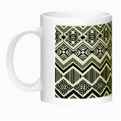 Aztec Design  Pattern Night Luminous Mugs by BangZart