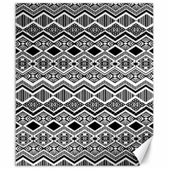 Aztec Design  Pattern Canvas 20  X 24