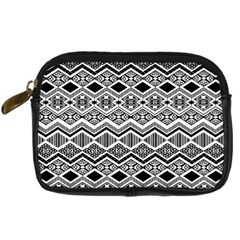 Aztec Design  Pattern Digital Camera Cases by BangZart