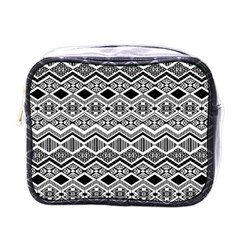Aztec Design  Pattern Mini Toiletries Bags by BangZart