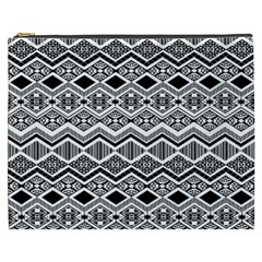 Aztec Design  Pattern Cosmetic Bag (xxxl)  by BangZart