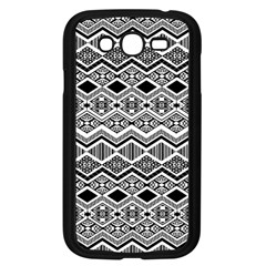 Aztec Design  Pattern Samsung Galaxy Grand Duos I9082 Case (black)