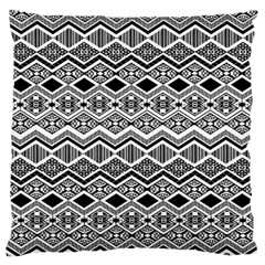 Aztec Design  Pattern Large Flano Cushion Case (two Sides)