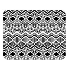 Aztec Design  Pattern Double Sided Flano Blanket (large)