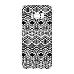 Aztec Design  Pattern Samsung Galaxy S8 Hardshell Case  by BangZart