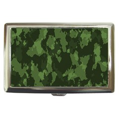 Camouflage Green Army Texture Cigarette Money Cases by BangZart