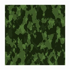 Camouflage Green Army Texture Medium Glasses Cloth