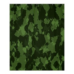 Camouflage Green Army Texture Shower Curtain 60  X 72  (medium)  by BangZart