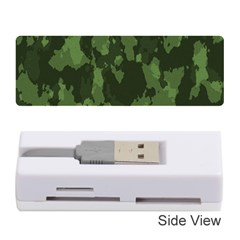 Camouflage Green Army Texture Memory Card Reader (stick)