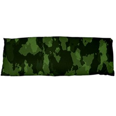 Camouflage Green Army Texture Body Pillow Case (dakimakura) by BangZart