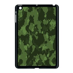 Camouflage Green Army Texture Apple Ipad Mini Case (black)