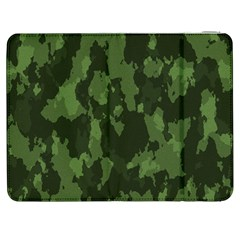 Camouflage Green Army Texture Samsung Galaxy Tab 7  P1000 Flip Case