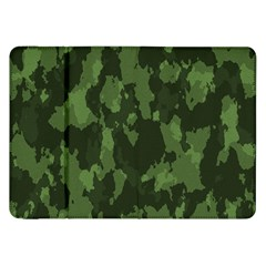 Camouflage Green Army Texture Samsung Galaxy Tab 8 9  P7300 Flip Case by BangZart