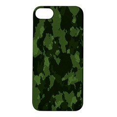 Camouflage Green Army Texture Apple Iphone 5s/ Se Hardshell Case by BangZart