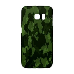 Camouflage Green Army Texture Galaxy S6 Edge by BangZart