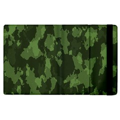 Camouflage Green Army Texture Apple Ipad Pro 9 7   Flip Case by BangZart