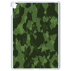 Camouflage Green Army Texture Apple Ipad Pro 9 7   White Seamless Case