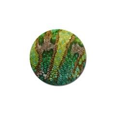 Chameleon Skin Texture Golf Ball Marker by BangZart
