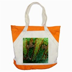 Chameleon Skin Texture Accent Tote Bag by BangZart