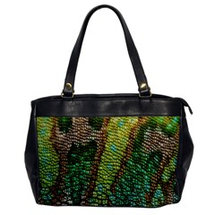Chameleon Skin Texture Office Handbags by BangZart