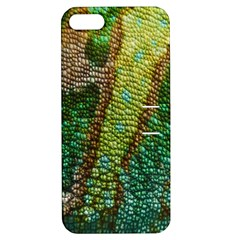 Chameleon Skin Texture Apple Iphone 5 Hardshell Case With Stand by BangZart