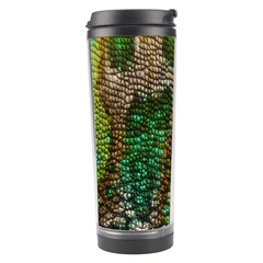 Chameleon Skin Texture Travel Tumbler by BangZart