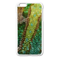 Chameleon Skin Texture Apple Iphone 6 Plus/6s Plus Enamel White Case by BangZart