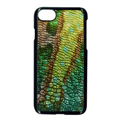 Chameleon Skin Texture Apple Iphone 7 Seamless Case (black) by BangZart