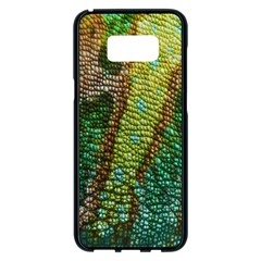Chameleon Skin Texture Samsung Galaxy S8 Plus Black Seamless Case by BangZart