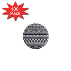 Aztec Pattern Design 1  Mini Magnets (100 Pack)  by BangZart