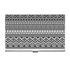 Aztec Pattern Design Business Card Holders