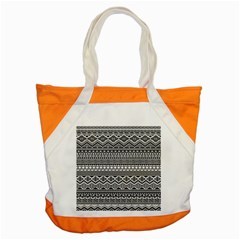 Aztec Pattern Design Accent Tote Bag by BangZart