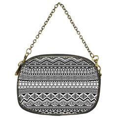 Aztec Pattern Design Chain Purses (one Side)  by BangZart